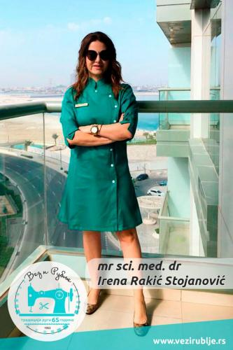 Irena Rakić Stojanović uniforma