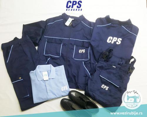 CPS uniforma set