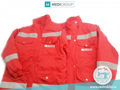 Medigroup jakne crvene
