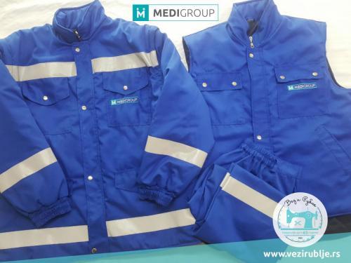 Medigroup jakne plave