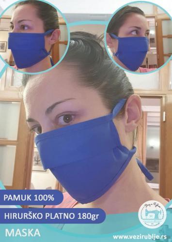 Maska - 100% pamuk